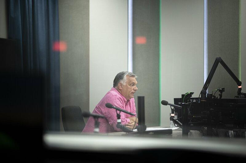 Orbán Viktor (MTI/Miniszterelnöki Sajtóiroda/Benko Vivien Cher)