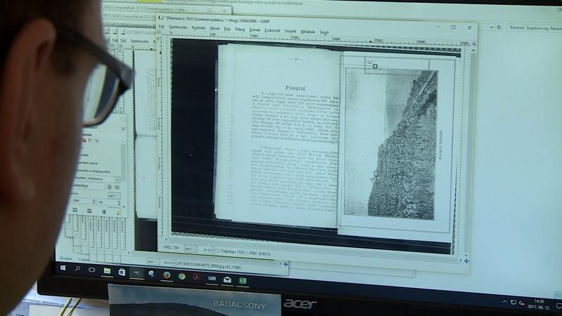 Térképek, helytörténeti érdekességek, korabeli hivatalos iratok. Leginkább ilyen dokumentumokat digitalizál mostanában a kaposvári könyvtár, illetve a levéltár.