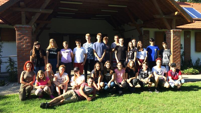 Rendhagyó táborozókat fogadott július első hetében a Sziágyi Erdészeti Erdei Iskola.