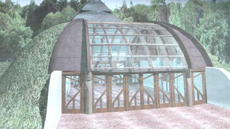 A Kaposvárra tervezett Makovecz harangház tervei