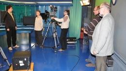 Médiatréningnek adott otthont a Kapos Televízió stúdiója