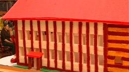Világrekord: kockacukorból építettek iskolát Nagyatádon