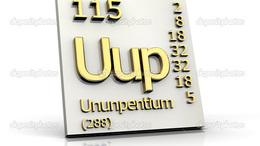 Itt a periódusos rendszer 115. eleme!