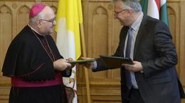 Módosították a magyar-vatikáni szerződést