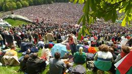 Több 100-an vettek részt Somogyból a szombati csíksomlyói búcsún