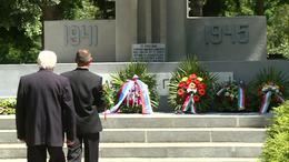 A II. világháború áldozataira emlékezett Kaposvár