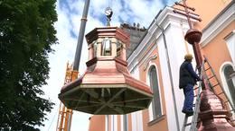 Ismét van tornya az igali templomnak