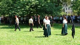 Főhajtás a Berzsenyi parkban