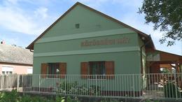Megújult a mosdósi közösségi ház