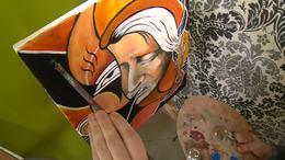 Kaposvári festő képeit állítják ki a Louvre-ban