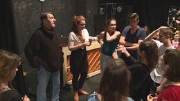 Színészhallgatók lépnek fel a Latinka házban