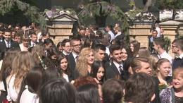 1600 diák ballagott Kaposváron