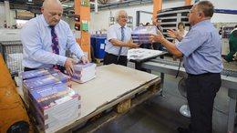 Már gyártják a tankönyveket