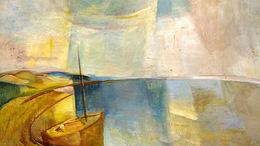 Kaposváron a Balaton festőjének alkotásai
