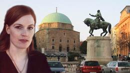 Német írónő ír blogot Pécsről