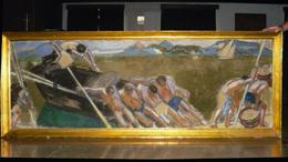 A falon lógott az elveszettnek hitt Vaszary-festmény