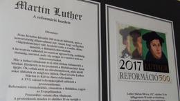 Kiállítás Luther életéről a Kaposvári Könyvtárban