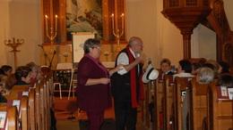 Lelkiderű-gyakorlat az evangélikus templomban