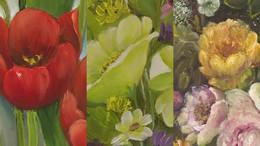 Virágok a könyvtárban
