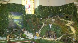 Ismét elkészült Európa legnagyobb templomi betleheme