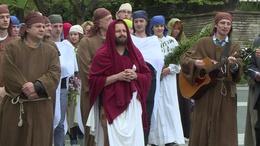 Bibliai történetek elevenednek meg virágvasárnap Kaposváron