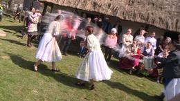 Megelevenedtek a húsvéti népszokások a Szennai Skanzenben