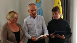 Szita Károlynál járt a kaposvári tehetség
