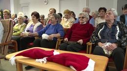 Időseket köszöntöttek a Kecelhegyi Nyugdíjas Házban