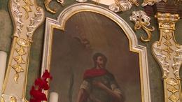 Megújult a barokk oltár