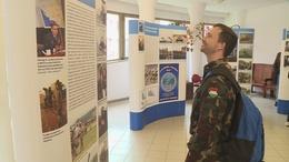 A NATO történelmét lehet megtekinteni a kampuszon