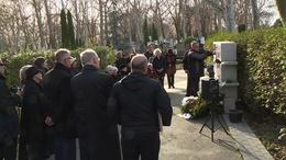 Kaposváron helyezték végsőnyugalomra Vörösmarty Magdát