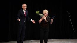 Molnár Piroska kapta idén a Kaposvár Díszpolgára címet