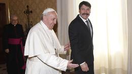 Magyarországra látogat a pápa