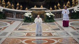 Ferenc pápa: a járvány száműzze az emberek közötti közönyt, egoizmust