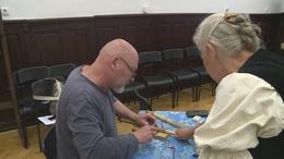 A népi gyermekjáték készítés nyomába eredtek a múzeumban