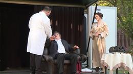 Színházzá változott a Búzavirág lakótelep