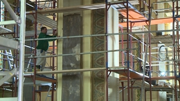 Hatalmas munka zajlik a kaposvári székesegyházban