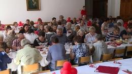 Szeretetvendégséget szervezett a Kaposvári Egyházmegyei Karitász