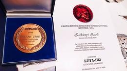 Posztumusz kitüntetést kapott Zákányi Zsolt