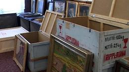 Ezermillió forintra biztosították a Rippl-festményeket