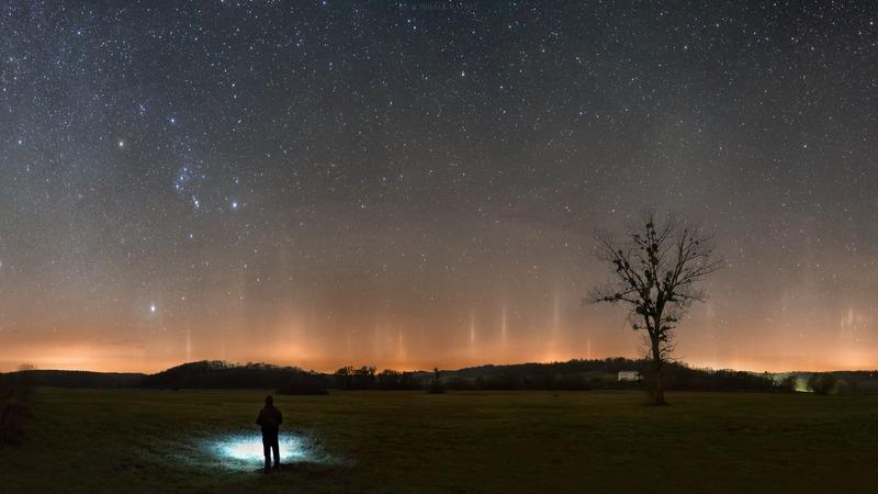 zselic csillagpark fényoszlop