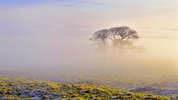 Csendes, párás, helyenként tartósan ködös idő