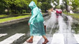 Hidegfront és eső minden mennyiségben!
