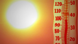 Hőség miatt figyelmeztet a meteorológiai szolgálat