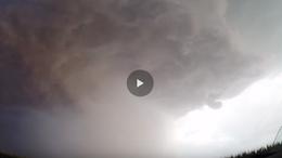 Így nézett ki a Balatonnál a hétfői vihar