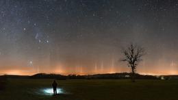 Ritka égi jelenséget örökítettek meg a Zselici Csillagparkban
