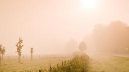 Változóan felhős, párás, néhol tartósan ködös idő