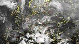 Hideget és havat hoz a mediterrán ciklon