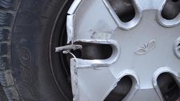 Letarolta a parkoló Daewoot, aztán lelépett