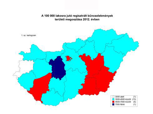 bűnügyi térkép 3291: ennyi bűnöző volt tavaly Somogyban   Kék hírek   Hírek  bűnügyi térkép